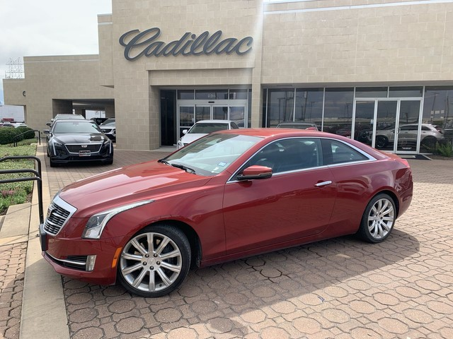 Used 2015 Cadillac ATS Coupe Luxury RWD