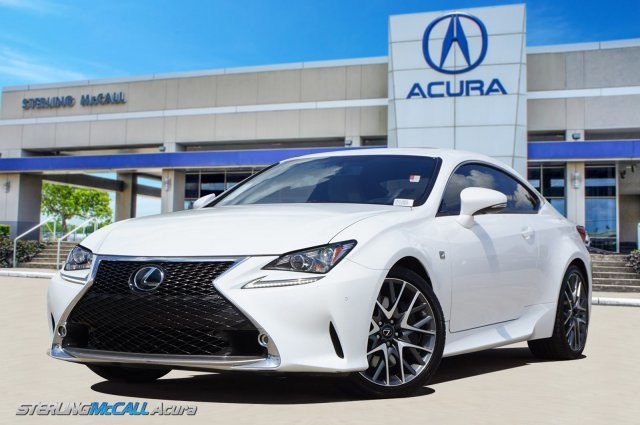 Used 2016 Lexus RC 350 RC350 F SPORT NAVI SUNROOF HEATED COOLED LEATHER LOW MILES