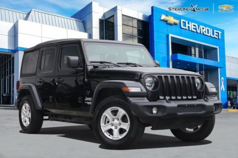 Used 2018 Jeep Wrangler Unlimited SPORT !!!