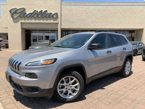Used 2017 Jeep Cherokee Sport