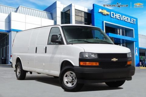 Used 2019 Chevrolet Express Cargo Van EXT 2500HD....