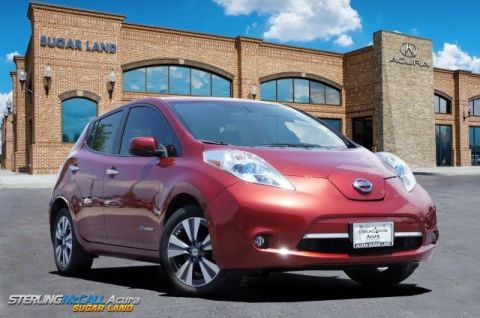 Used 2015 Nissan LEAF SL