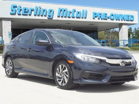 Used 2018 Honda Civic Sedan EX ***CPO, BLUETOOTH AND BACK UP CAMERA***