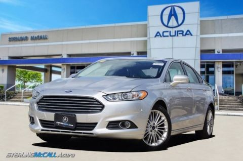 Used 2016 Ford Fusion SE 24K Miles, Leather, Sunroof, Bluetooth & more!