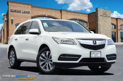 Used 2016 Acura MDX w/Tech
