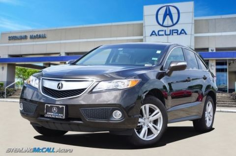Used 2015 Acura RDX Tech Pkg NAVI SUNROOF HEATED LEATHER LOW MILES CERTIFIED