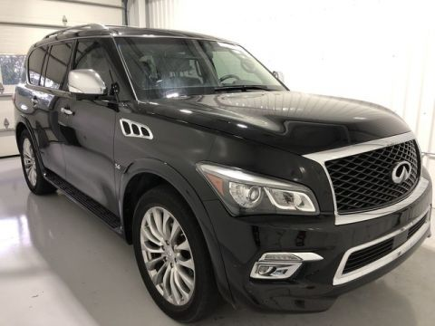 Used 2015 INFINITI QX80 w/ Navigation & Sunroof