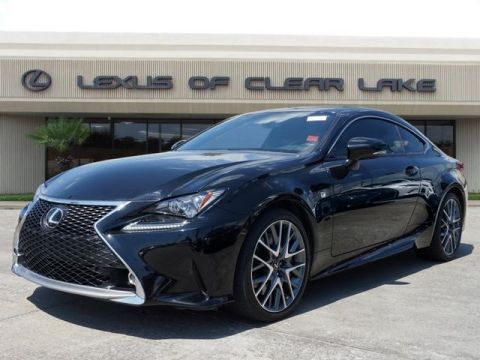 Used 2015 Lexus RC 350 FSPORT NAVIGATION MOONROOF