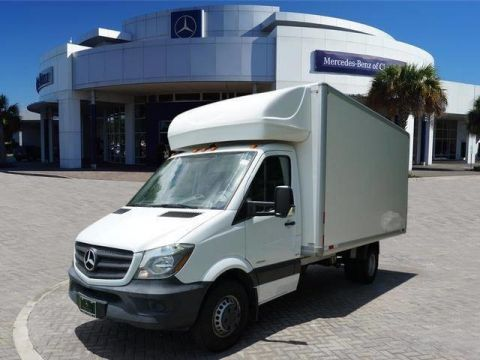 Used 2016 Mercedes-Benz Sprinter Chassis Cab Box Van